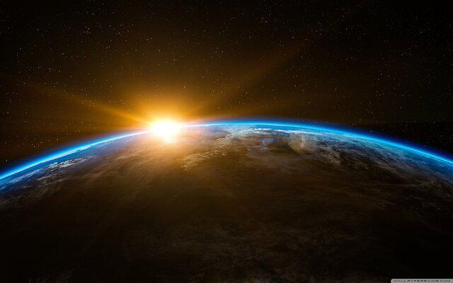 طلوع خورشید از مغرب
